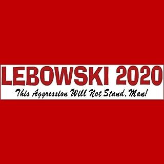 big lebowski bumper stickers