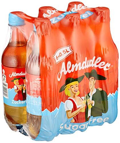Almdudler Zuckerfrei Alpenkräuterlimonade, 6er Pack (6 x 500 ml)