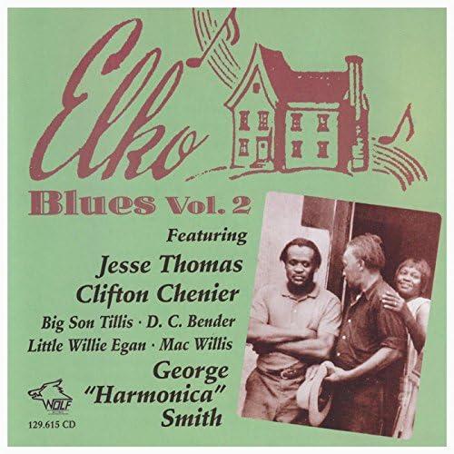 "Jesse Thomas, Clifton Chenier, Big Son Tillis, D. C. Bender, Little Willie Egan, Mac Willis & George ""Harmonica"" Smith"