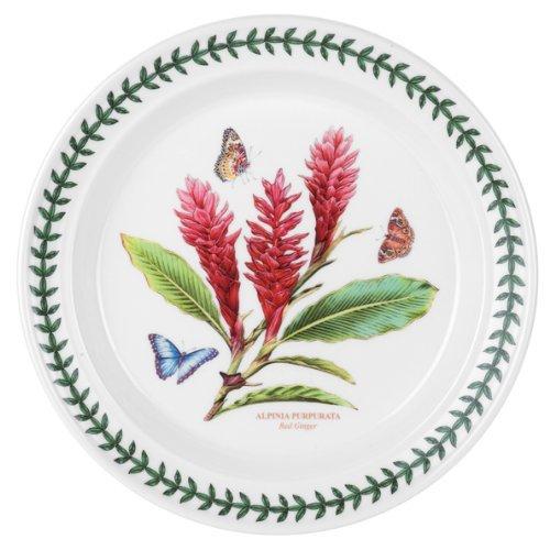 Portmeirion Assiette Motif jardin botanique exotique Rouge
