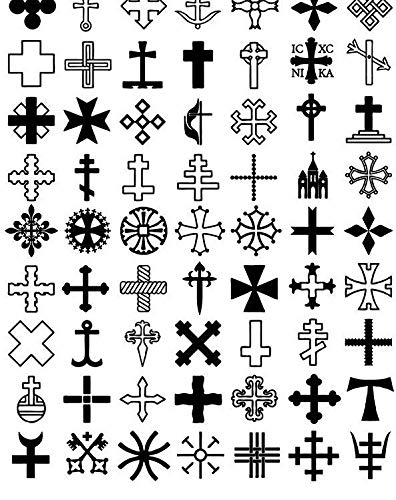 Celtic Symbols - 4794165 - Ceramic Decal - Enamel Decal - Glass Decal - Waterslide Decal - 3 Different Size Sheet (Images) to Choose from. Choose Either Ceramic (Enamel) or Glass Fusing Decals