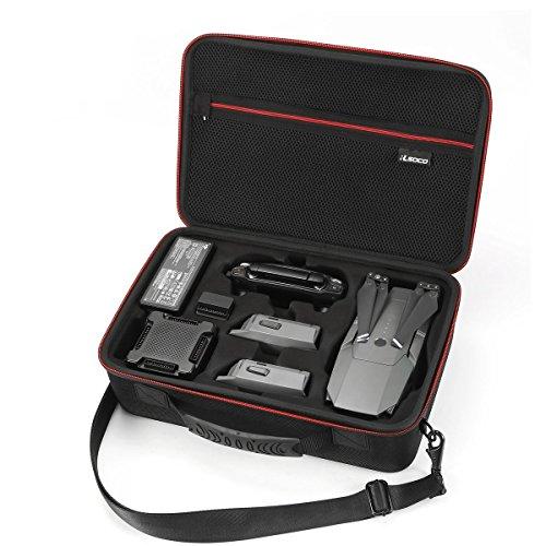 RLSOCO Dronekoffers Draagtas voor DJI Mavic Pro/Platinum Drone en accessoires - Past op batterijlader, oplaadhub, autolader, iPad mini (niet geschikt voor Mavic 2 Pro & Zoom)