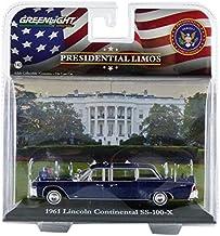 Greenlight Collectibles–86110a–Lincoln–Continental ss-100-x–John F. Kennedy–Escala 1/43–Negro
