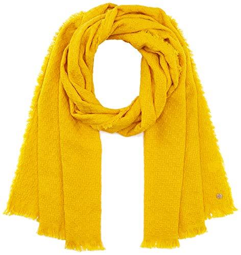 ESPRIT edc by Accessoires Damen 990CA1Q302 Mode-Schal, 720/BRASS Yellow, 1SIZE