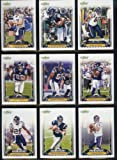 2006 Score San Diego Chargers Football Card Complete Set of 13 Cards including LaDainian Tomlinson and Philip Rivers plus rookie cards of Brett Elliott, Malc... rookie card picture