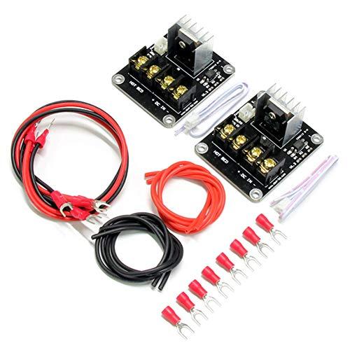 Alftek Hot de Lit Module Thermique chauffé Lit d'alimentation d'extension pour Serre Mosfet MOS Tube modules pour imprimante 3D