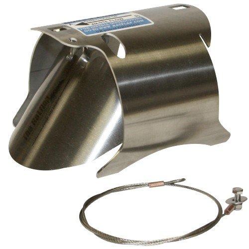 Ratflap Edelstahl-Ratprävention, schnell 10,2 cm, 100 mm Ton- oder Kunststoff-Rohr