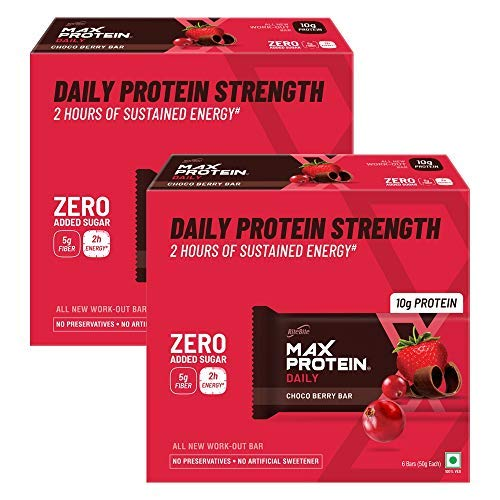 Daily Choco Berry Bar (50 g)- Pack of 12(600g)