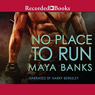 No Place to Run audiobook cover art