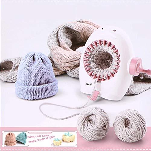Strickmaschine, 22 Nadeln Pinguin Cartoon Form Webmaschine Handstrickmaschine Webstuhl Kit für Webschals gewebte Hüte gewebte Socken