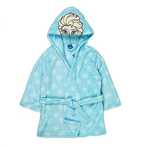 Disney Frozen Elsa Bademantel, 100 % Polyester, 2-3 Jahre
