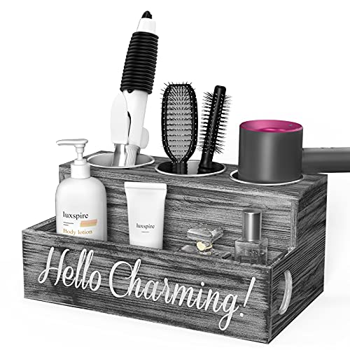 Luxspire Hair Tool Organizer for Bathroom