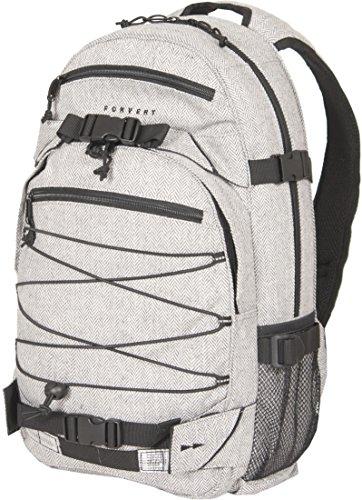 FORVERT Backpack New Louis, Flannel Light Grey, OneSize