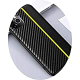 For IPhone 11 12 Pro Max Case Original Carbon Fiber PU Leather Shockproof Protection Cover for IPhone XS XR X MAX 8 7 Plus Case,Yellow,For IPhone XR