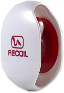 Recoil Automatic Cord Winder for USB Cables, Phone, Tablet and Reader Chargers, Sync Cables and Other Cords. No More Tangled Cords! The Original Retractable Cord Organizer. White, Size Large