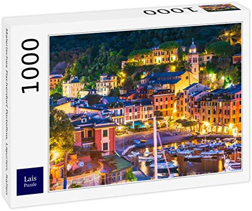 Lais Puzzle Pittoresco Villaggio di Pescatori di Portofino, Liguria, Italia 1000 Pezzi