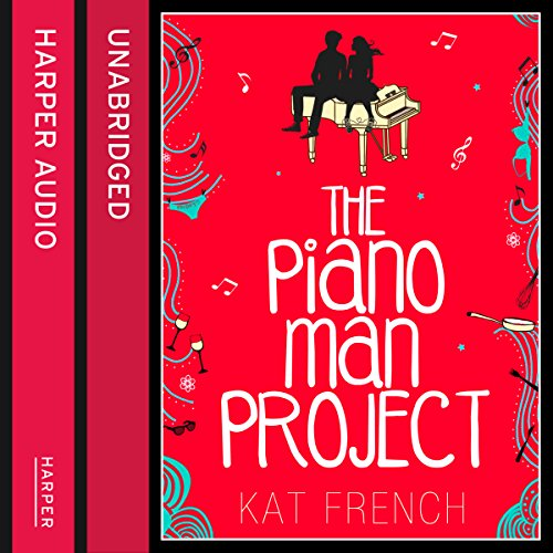 The Piano Man Project audiobook cover art