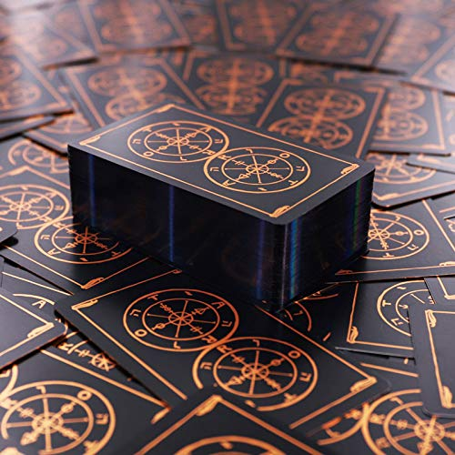 Tarot Cards, Tarot Cards Deck, Tarot Deck, 78 Tarot Deck Future Telling Game,The Wheel of Fortune Tarot - Holographic Tarot Cards