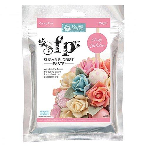 Squires kitchen Blütenpaste,Candy Pink 200g