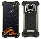 Smartphone Robusto DOOGEE S88 PRO 10000 mAh Batteria, Octa-core 6GB+128GB Android 10, Fotocamera Quadruple 21 MP, 6,3'FHD + Corning Gorilla Glass, Ricarica Wireless, Rugged Telefono IP68 NFC Verde
