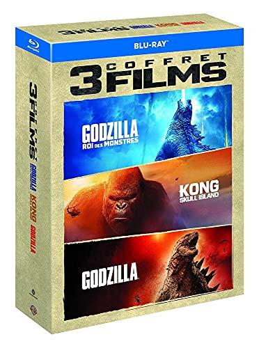 Godzilla + Godzilla : Roi des Monstres + Kong : Skull Island [Blu-Ray]