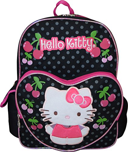 Hello Kitty Deluxe embroidered 16' School Bag Backpack