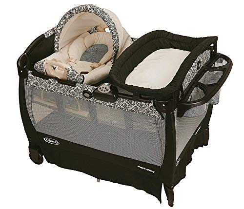Graco Pack 'n Play Playard with Cuddle Cove Removable Rocking Seat, Rittenhouse