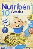 NUTRIBEN PAPILLA 10 CEREALES 600 G. PARA2, blanco (019104787)