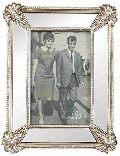 Clayre & Eef 2F0098cornice foto cornice color argento ca. 10x 15cm