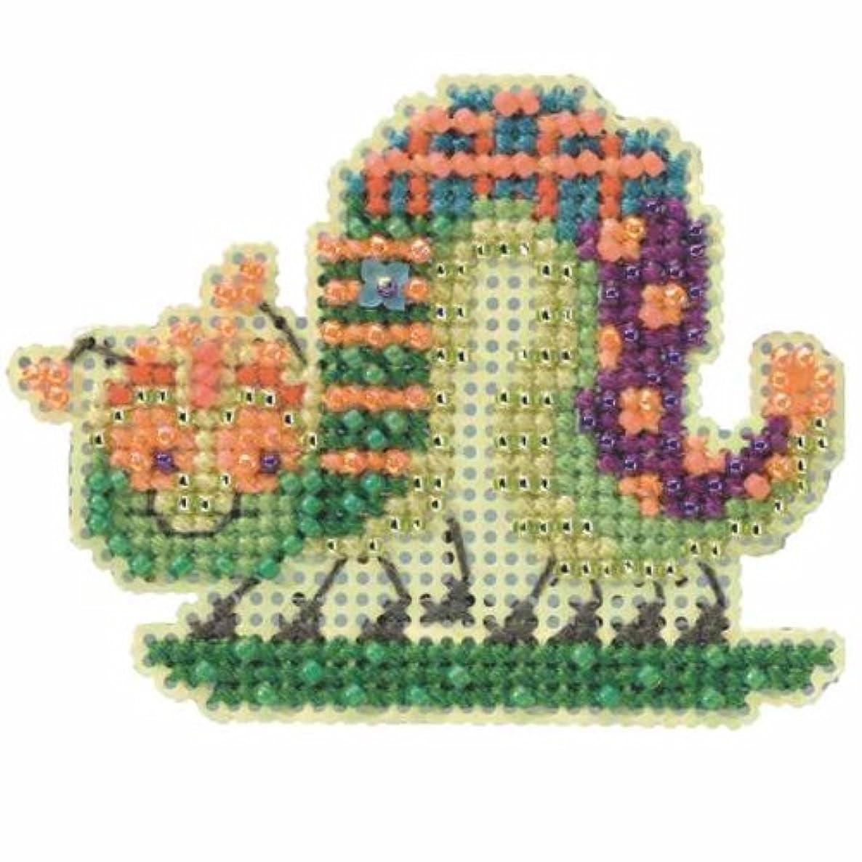 Caterpillar - Beaded Cross Stitch Kit MH184103