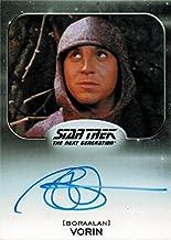 Star Trek Aliens Autograph Card TNG Brian Markinson as Vorin