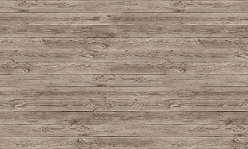 貼ってはがせる! テーブルデコレーション 30cm×150cm エイジドウッド グレー(GY)