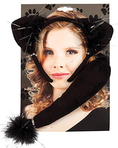 Boland 52307 Costume de Chat, Serre-tête et Queue