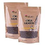 Mituso - Graines de chia, sachet de 2kg - vegan et sans gluten, source d'oméga-3 et...