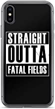 iPhone 6 Plus/6s Plus Case Anti-Scratch Gamer Video Game Transparent Cases Cover Straight Outta Fatal Fields Gaming Computer Crystal Clear