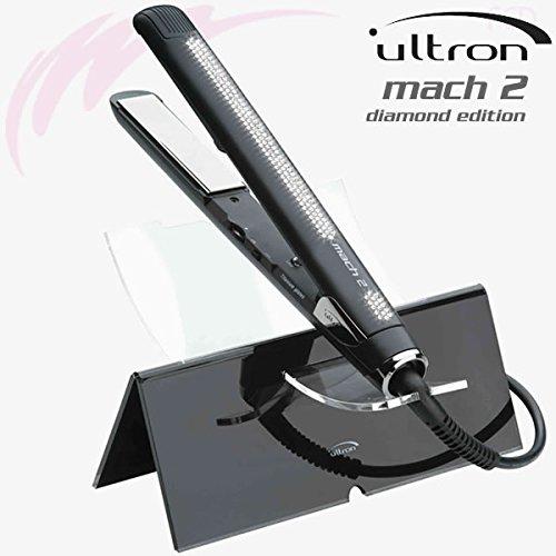 Sinelco France Ultron Swarowski Mach 2 Diamond - Plancha de pelo (45 W, 220 V)