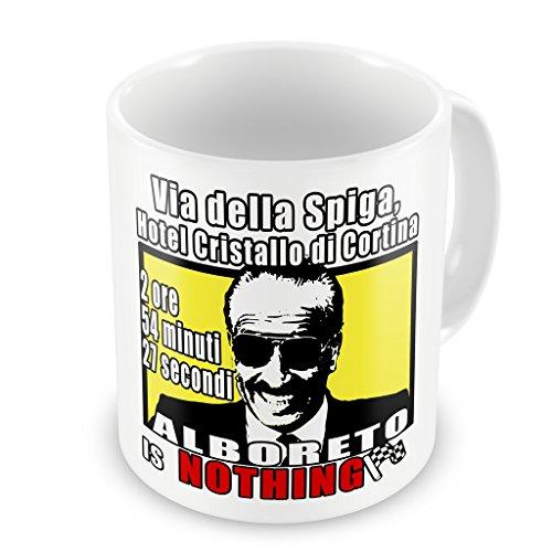 IMAGE Tazza Mug Dogui cumenda Alboreto is Nothing - Famosi