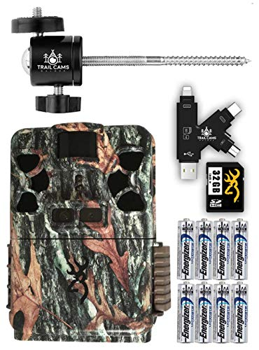 Browning Patriot Trail Camera with Batteries, SD Card, Card Reader, and Mount