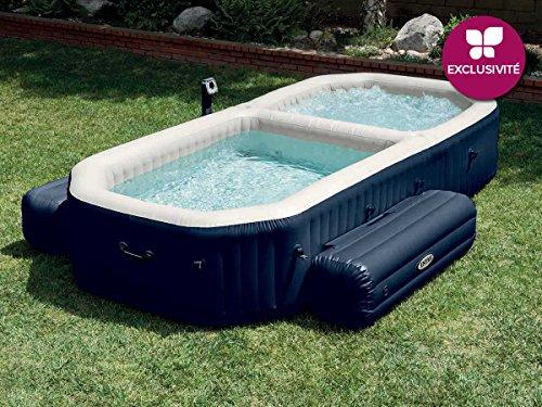 Intex PureSpa - Spa con piscina hinchable, 3.86 x 2.57 x 71...