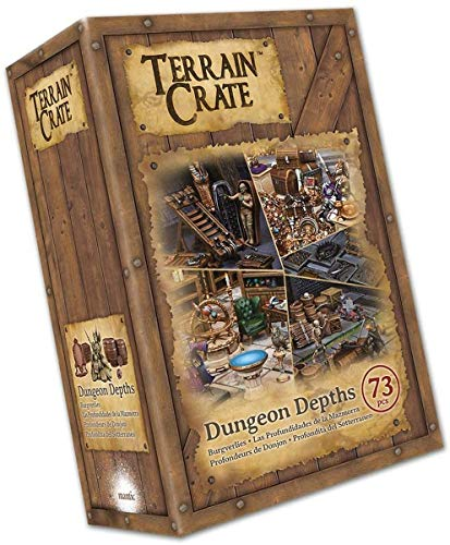 Mantic Games MGTC104 TerrainCrate: Dungeon Depths,...