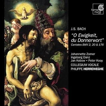 J.S. Bach: Cantatas BWV 2, 20 & 176