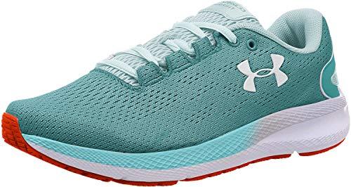 Under Armour Women's Charged Pursuit 2 Running Shoe, Blue Haze (400)/White, 5.5 M US