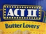 ACT II Butter Lovers Mikrowellen Popcorn -