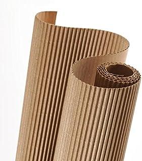 Rollo 50x70 cm, Canson Cartón Ondulado 300g, Beige Natural