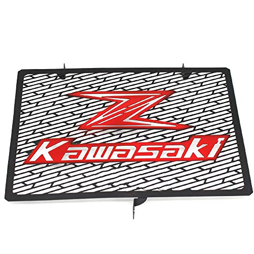 Radiador de la motocicleta de la protección del protector de la parrilla Para Kawasaki Z750 Z1000 Z800 Z1000SX 2003-2016 ZR800 (Color : Red)