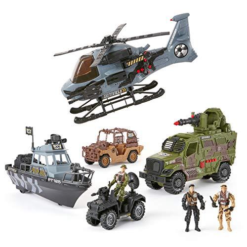 True Heroes Military Vehicle Set