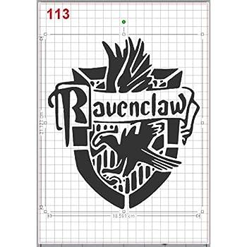 Harry Potter Platform 9 3//4 Stencil MYLAR A4 sheet strong reusable art craft