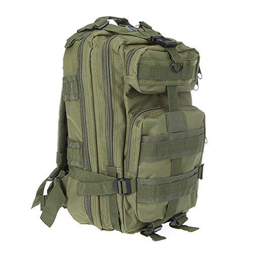 Docooler Sport-Rucksack für den Außenbereich, taktisch, militärisch, Camping, Wandern, Trekking, Woodland Camo