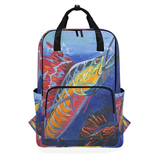 Lässige Sailfish Doctor Rucksack Bookbag Multifunktions-Umhängetasche Daypack