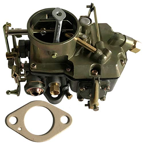 """Autolite 1100 Carburetor Manual Choke Fits 1964-68 Falcon Mustang Sprint Fairlane Comet 170 to 200 inline six cylinder engines F100 F250 F350 Truck 1963 to 1964 V6 223""""/6 cylinder 262"""" CID engine"""
